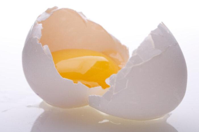 ägg i håret