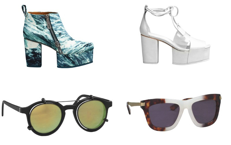 &amp; other stories first collection accessories shoes and sunglasses 