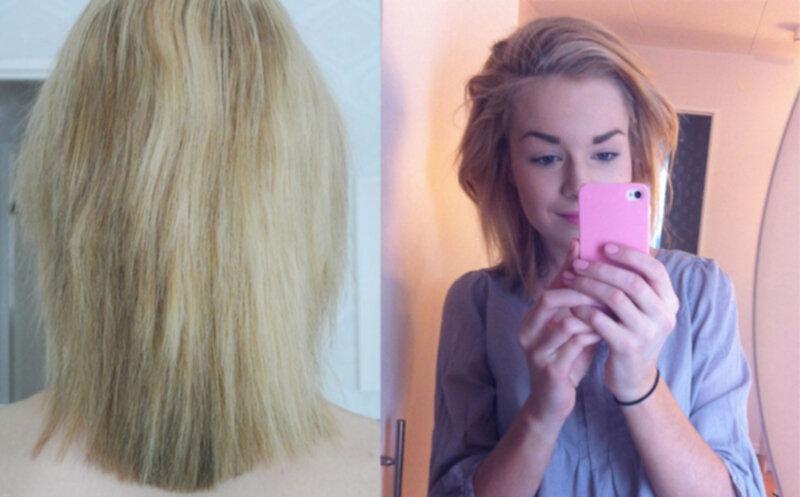 frissigt hår hjälp