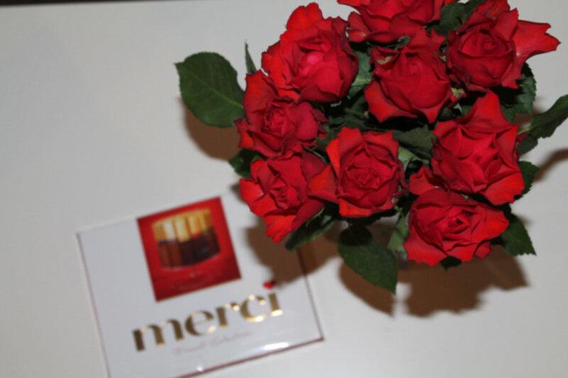 rosor och choklad