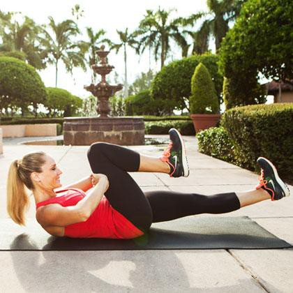 träna nedre delen av magen