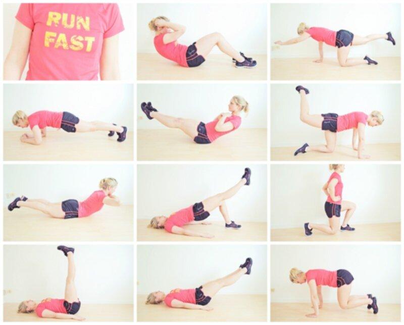 träna hemma övningar