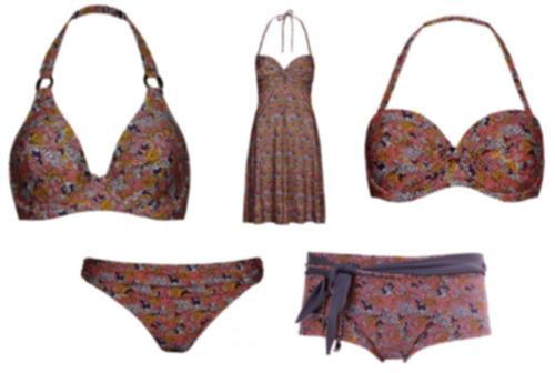 bikini med boxertrosa