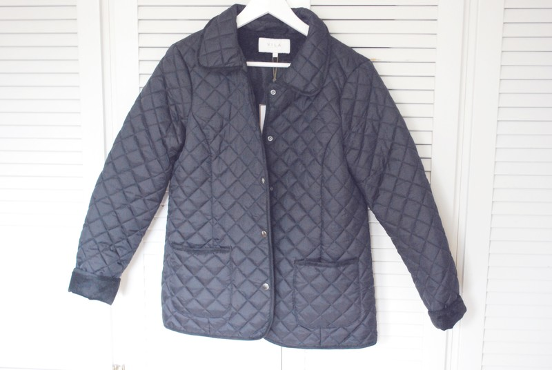 quilted jacket from vila / new