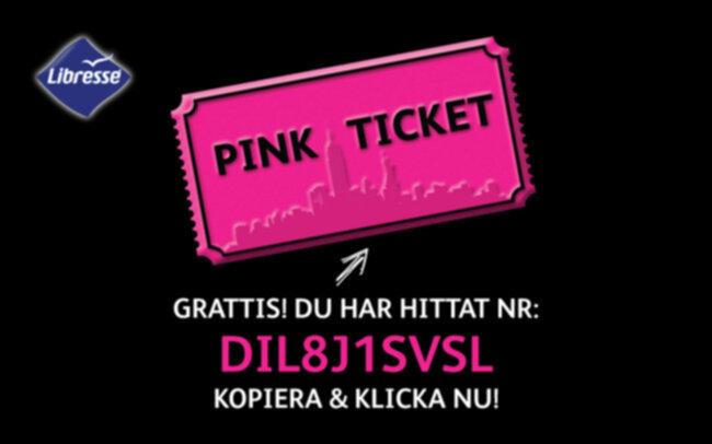 Libresse Pink Ticket #40