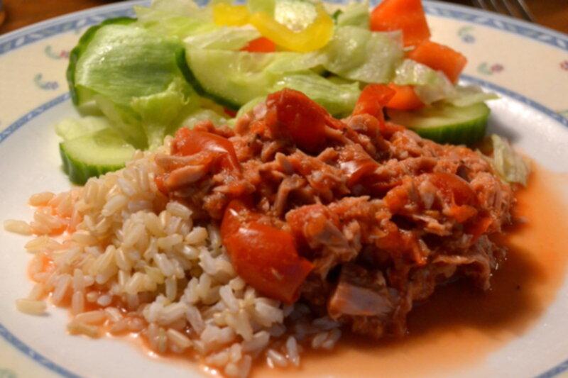 tonfisk i tomatsås recept