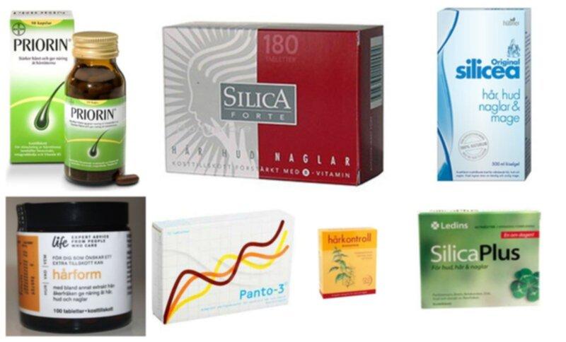 piller för hårväxt