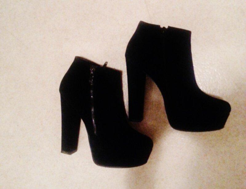 svarta skor med klack