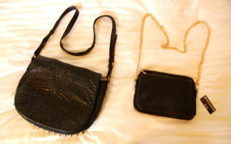 Handbagage Två Väskor : Tv? v?skor k?rlekar