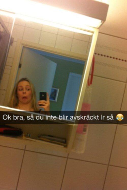 Svenska tjejer på snap