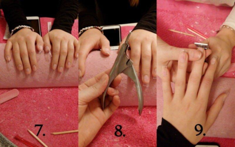 superlim på naglar
