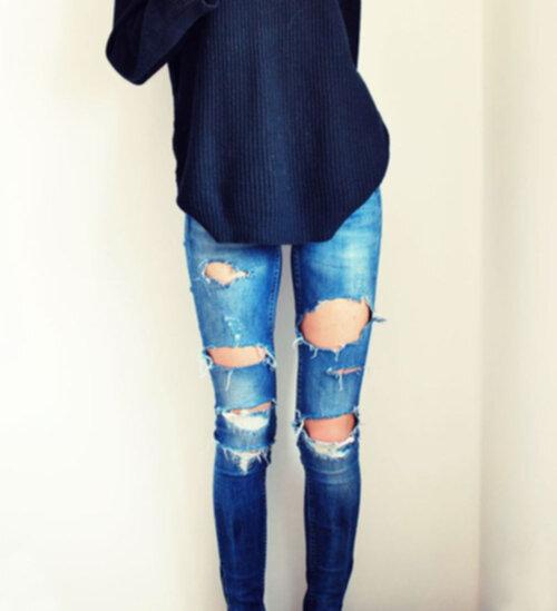 snygga tajta jeans