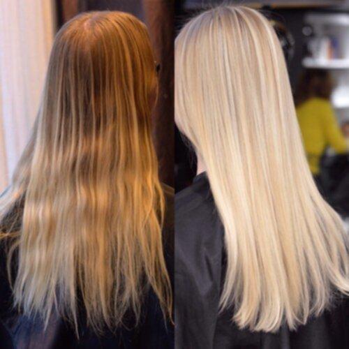 c vitamin metoden hår