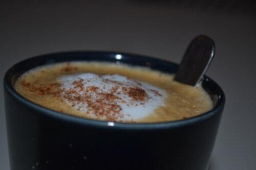 kaffe latte hemmagjord