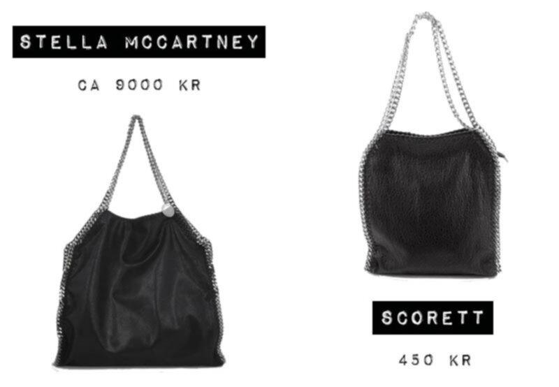 stella mccartney liknande väska