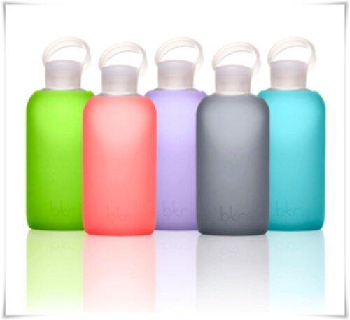 Vattenflaska glas bkr