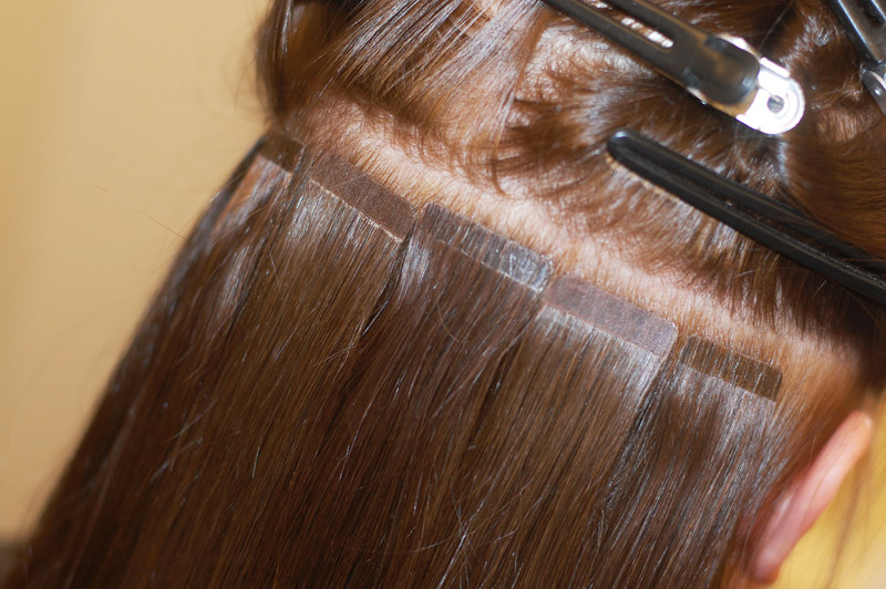 löshår som inte sliter på håret