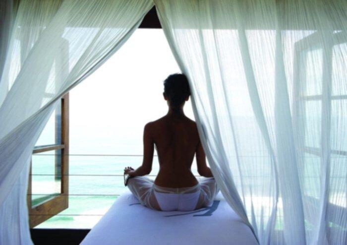 spa och massage sensuella underkläder