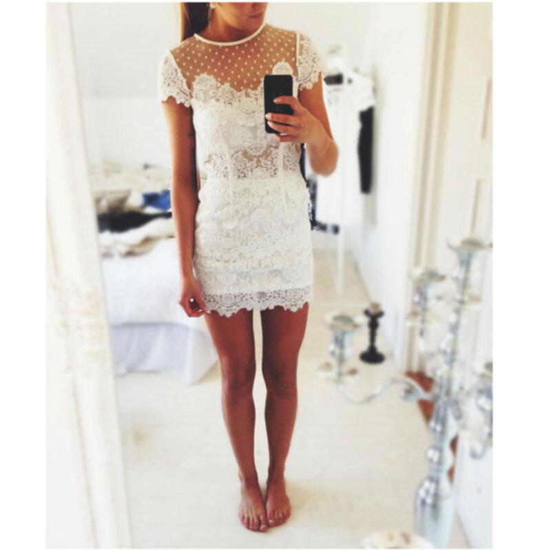 ida sjöstedt paris dress white säljes