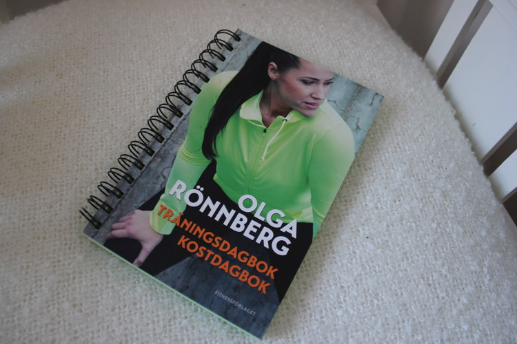 olga rönnberg träningsdagbok