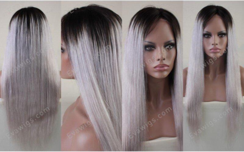 grått hår toning