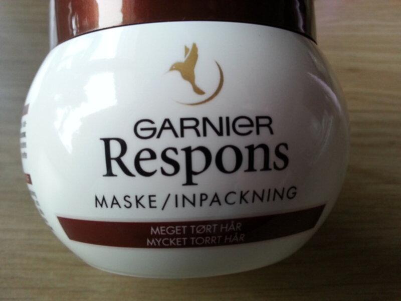 garnier respons inpackning