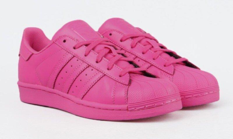 rosa adidas skor