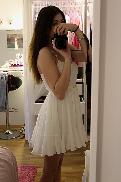 ida sjöstedt shady dress vit