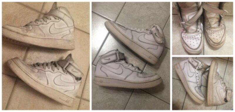 Göra vita sneakers som nya knep!
