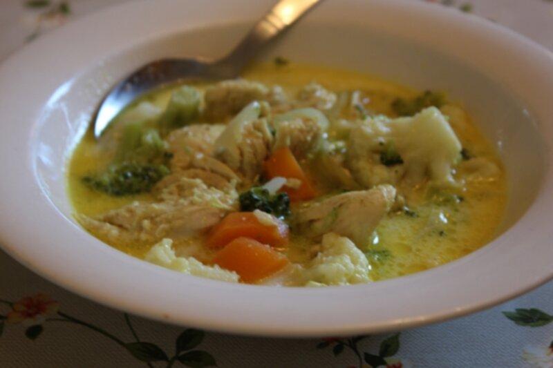 soppa bra mot förkylning