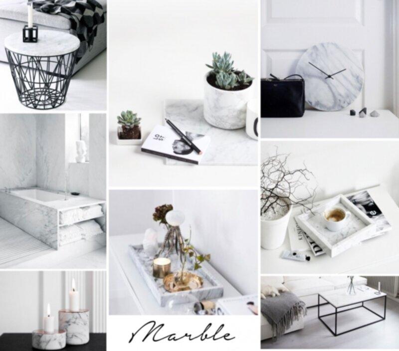 Inredning marmor