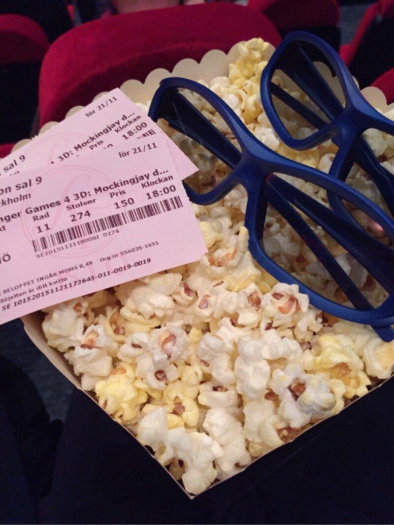 bio popcorn pris