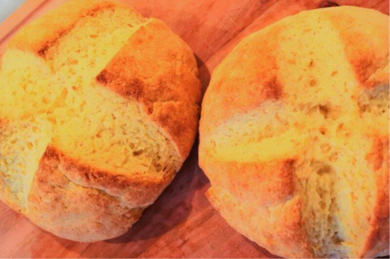 glutenfria scones rismjöl