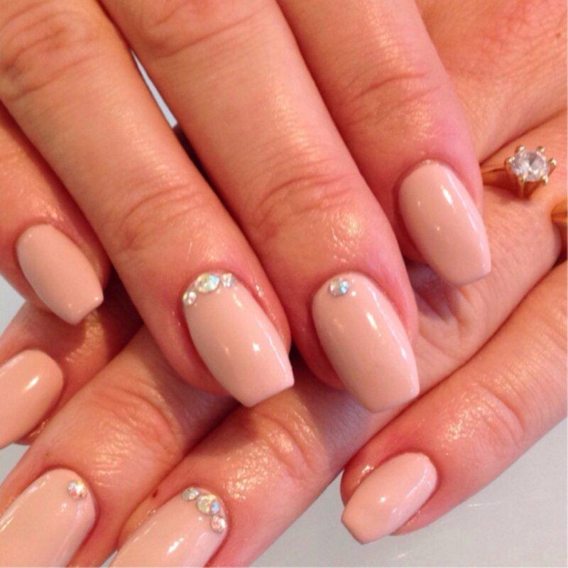 swarovski stenar naglar