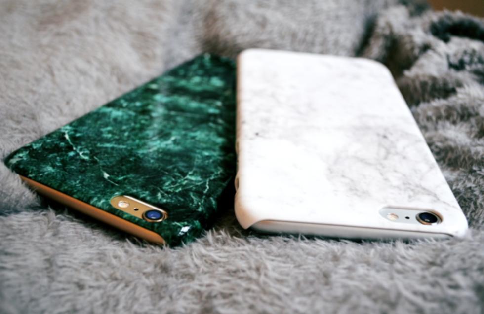 grönt marmor skal