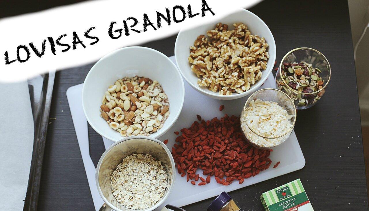 göra egen granola