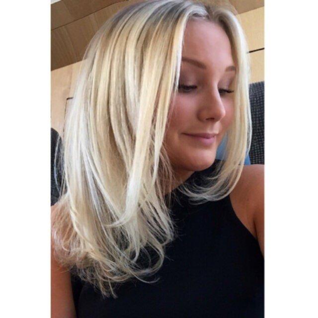 hår slingor 2016