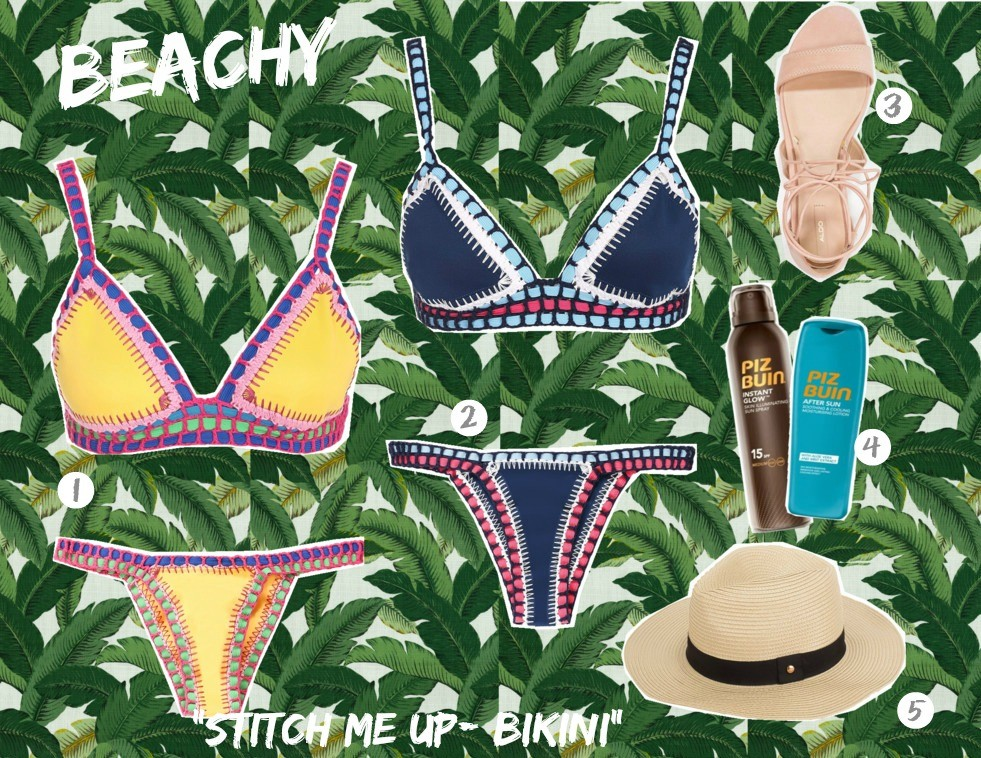 stitch me up bikini top
