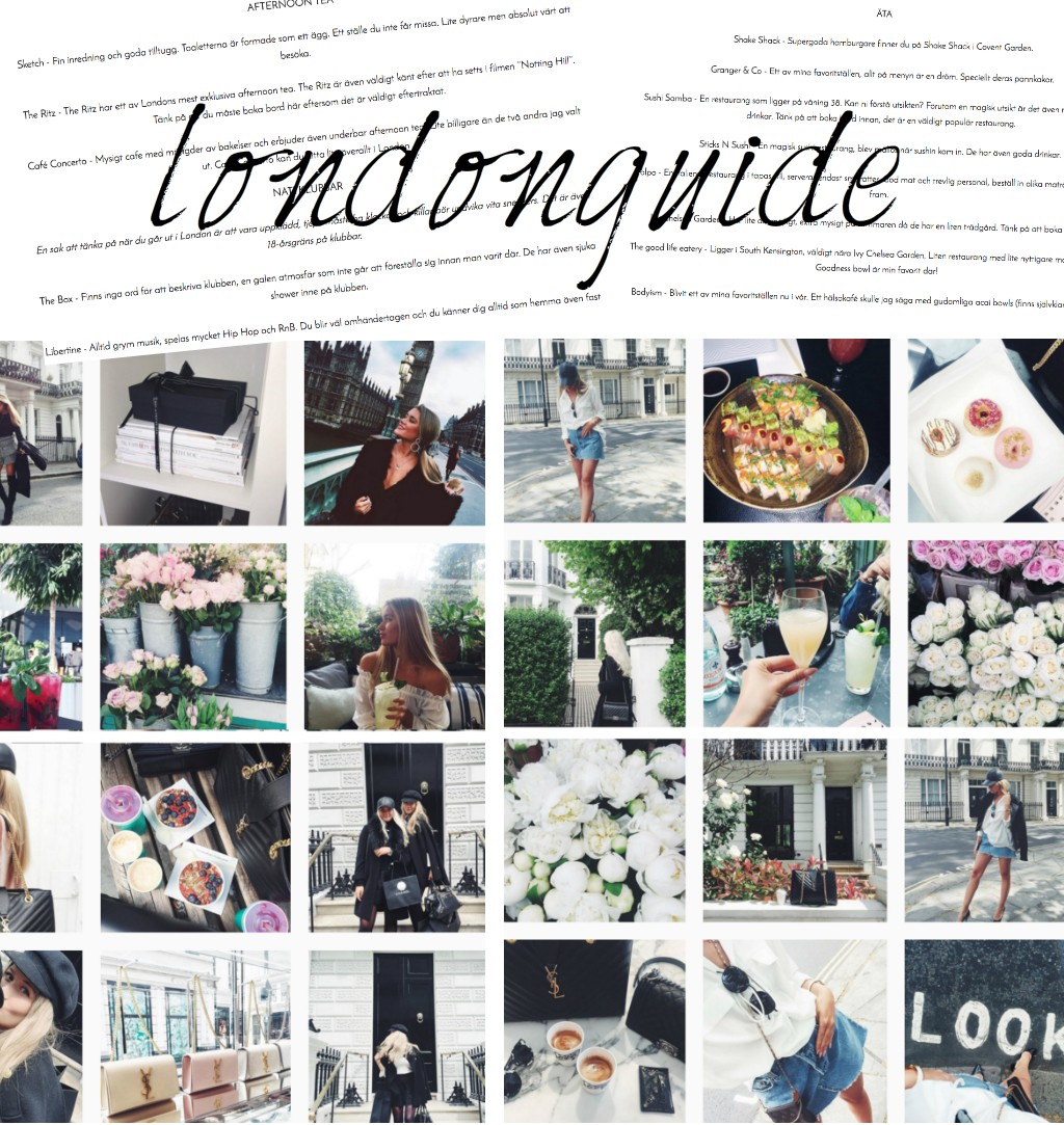 london guide blogg