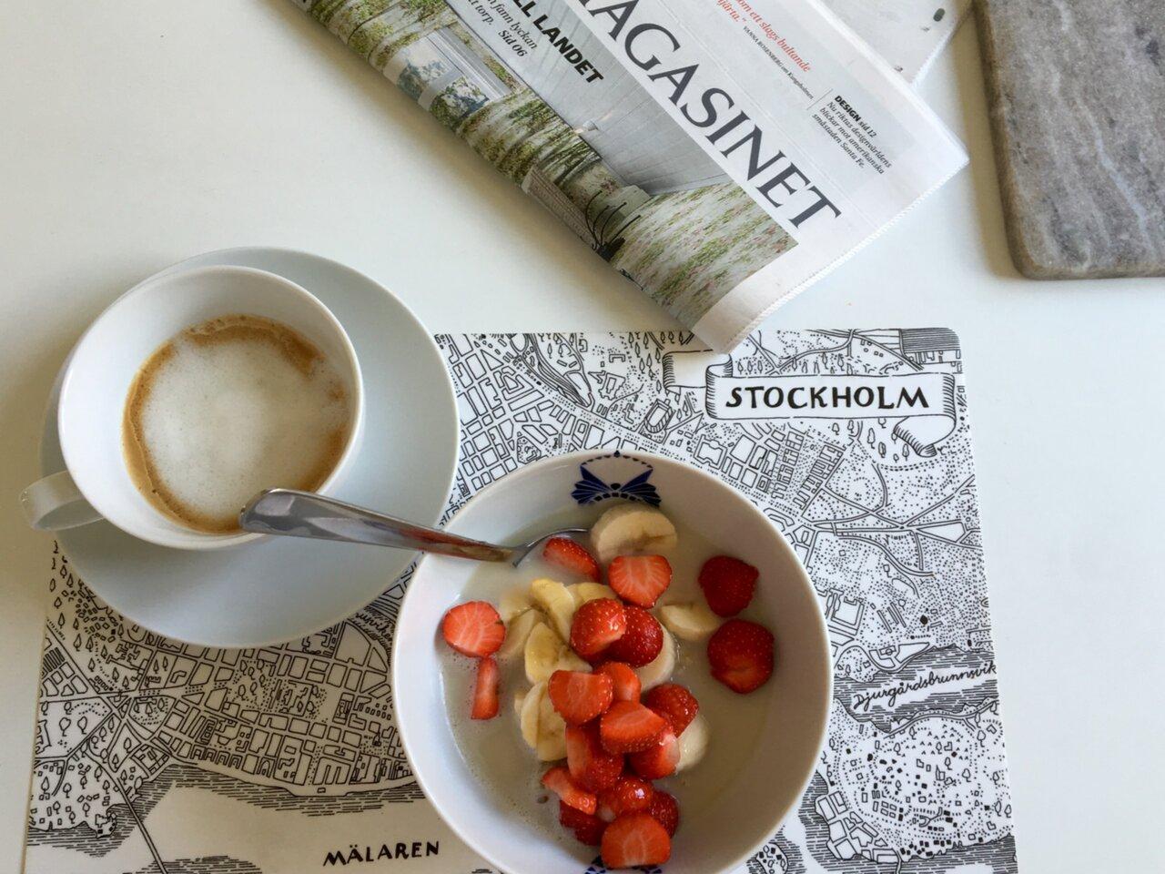 Ont i magen av jordgubbar