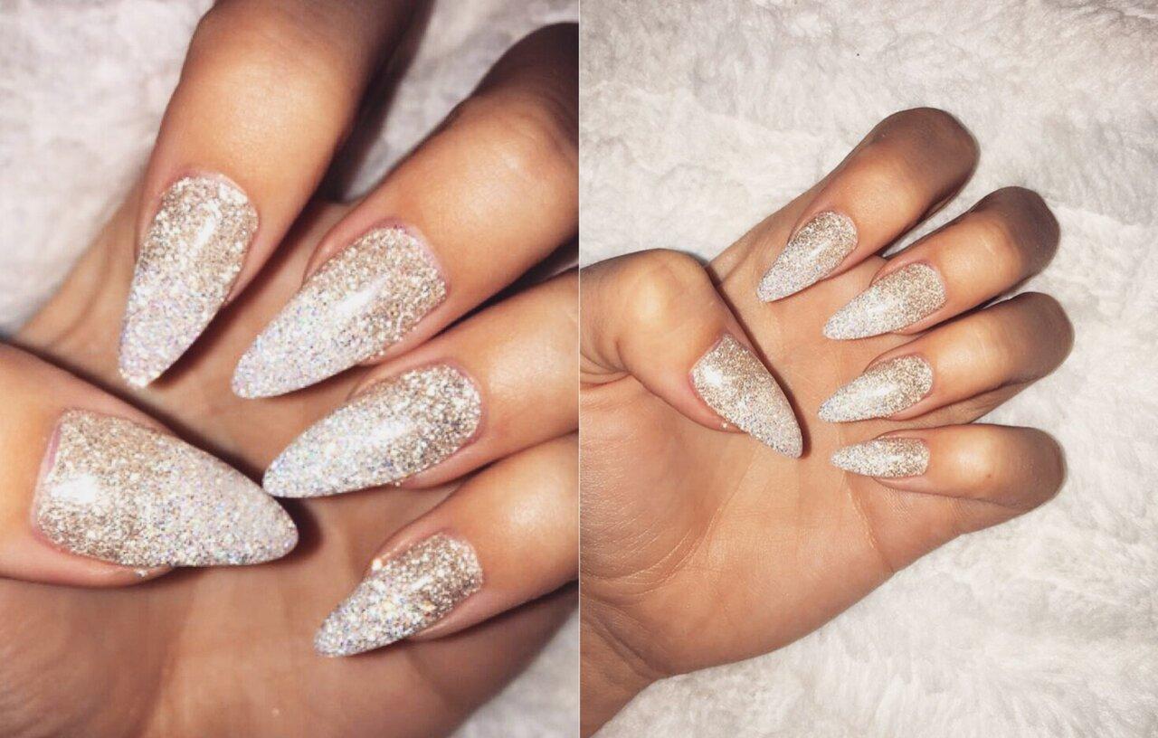 glitter för naglar