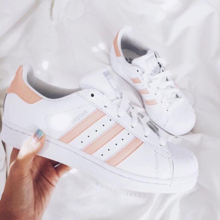 adidas ljusrosa skor