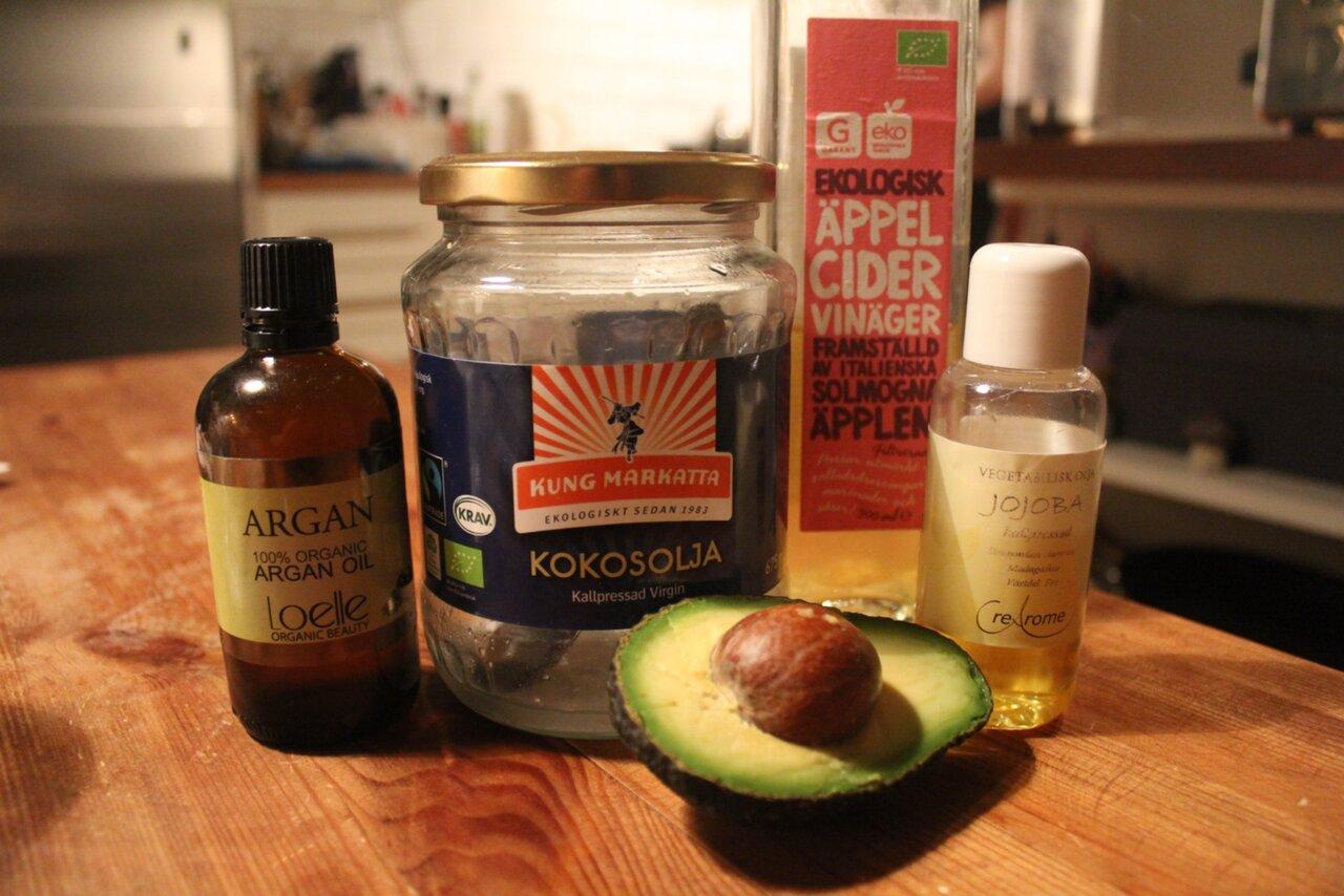 avokado bra för håret