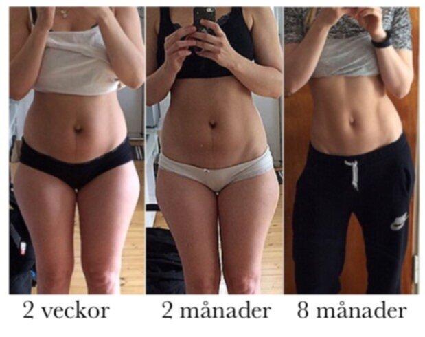 träna magen efter förlossning