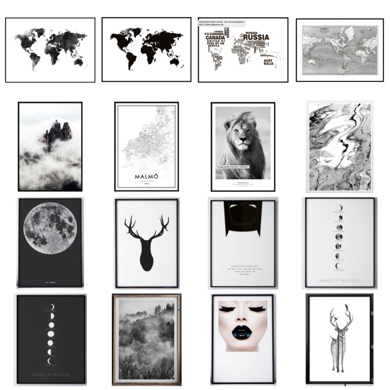 tavla med världskartan
