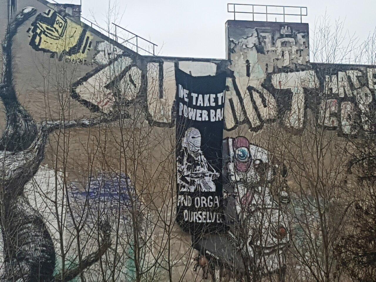 Ett kulturcentrum flyttar in i berlin