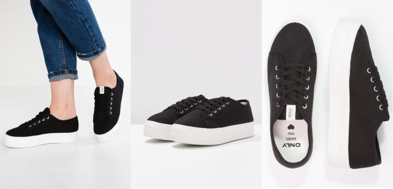 svarta skor vit sula