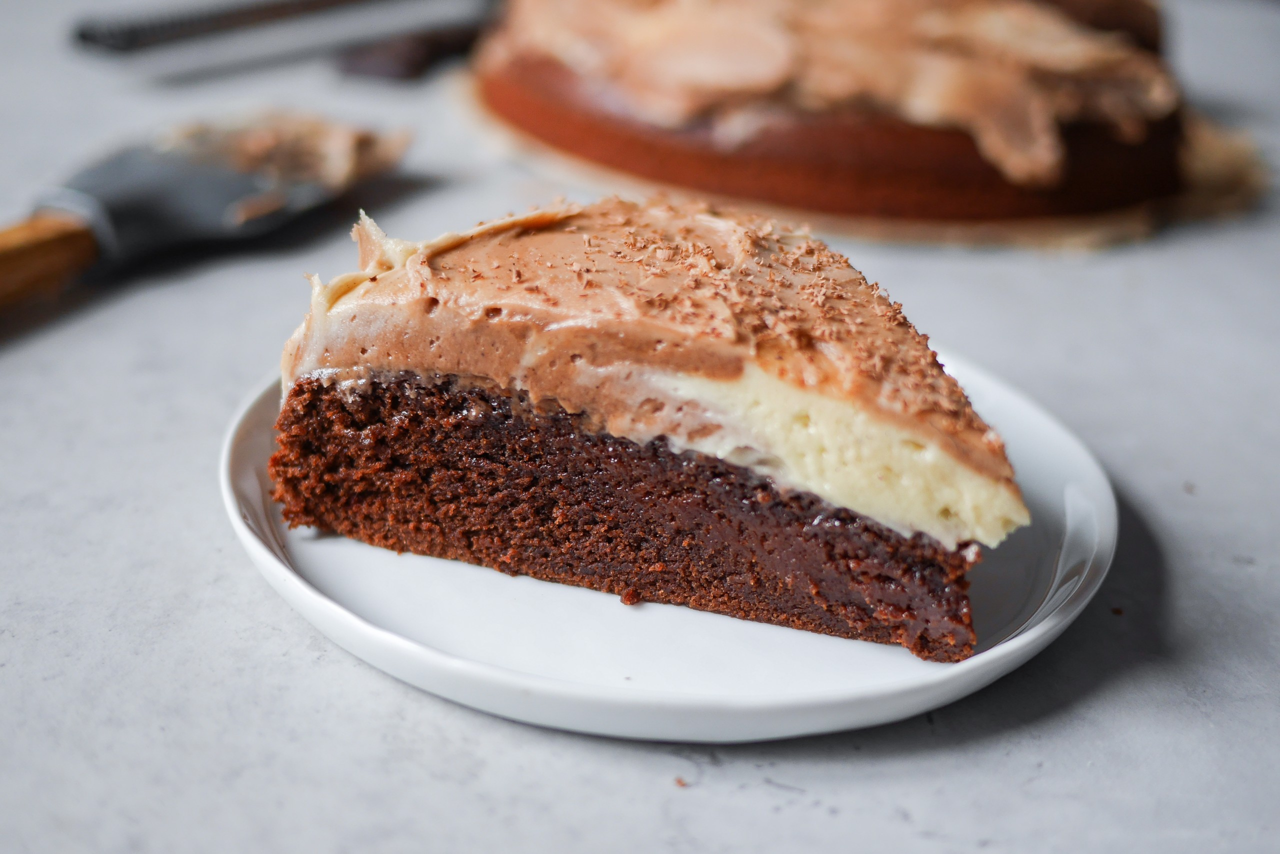 amerikansk chokladtårta med smörkräm