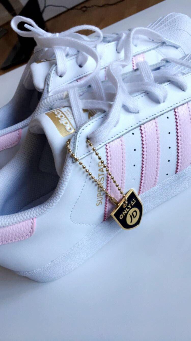 adidas superstar ljus rosa