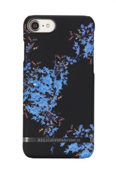 Svart skal med blå blommor i färgen Midnight blossom. cfe942a1e5211